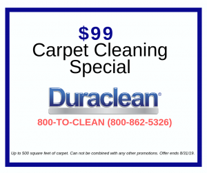 $99 Carpet Cleaning Special